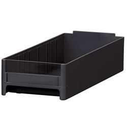 19-Series Cabinet Drawer 4 x 2-1/16 x 10-9/16, Black