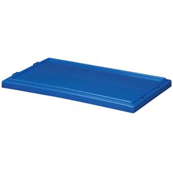 Lid for Nest & Stack Totes 35180/35185, Blue (35181BLUE)