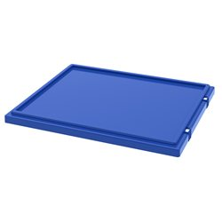 Lid for Nest & Stack Totes 35225/35230, Blue (35231BLUE)