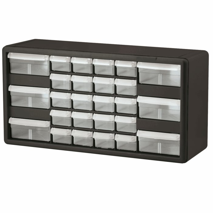 26 Drawer Plastic Storage Cabinet 10126