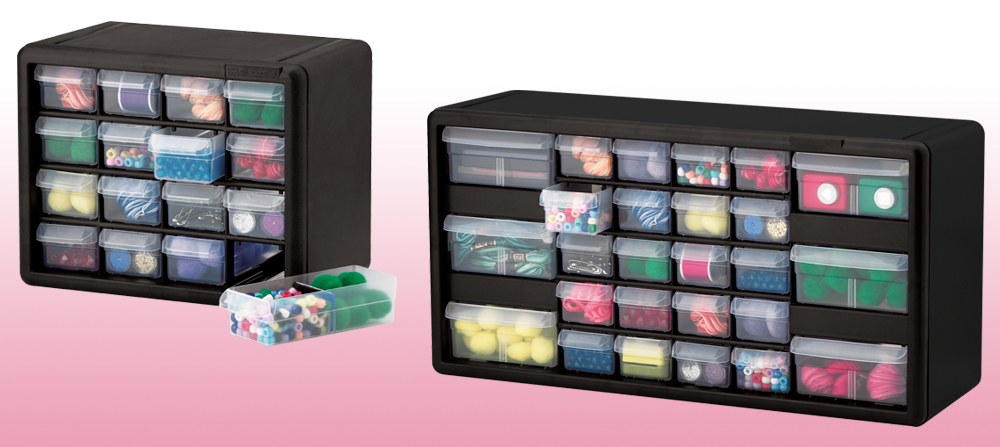 6 great storage ideas to organize craft supplies akro mils blog - Organizing craft supplies in small space collection ...