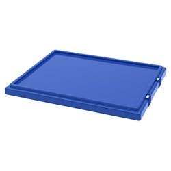 Lid for Nest & Stack Totes 35190/35195, Blue (35191BLUE)