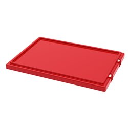 Lid for Nest & Stack Totes 35200, Red (35201RED)