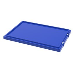 Lid for Nest & Stack Totes 35200, Blue (35201BLUE)