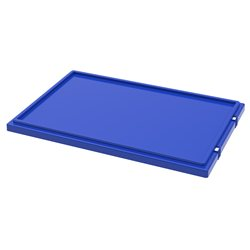 Lid for Nest & Stack Totes 35300, Blue (35301BLUE)